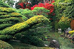 城南宮 池泉回遊式庭園
