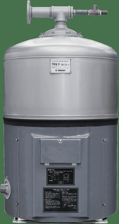 鑑賞池用ろ過機湧清水50型IW-50 型